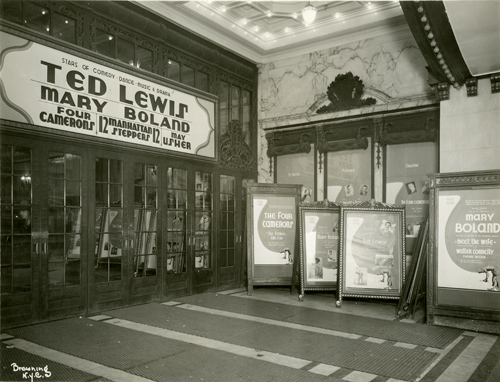 Irving Browning (1895-1961). [Palace Theatre Entrance], 1928. Gelatin silver print. New-York Historical Society, Browning Photograph Collection, PR 09