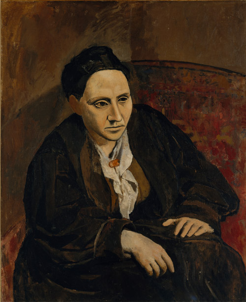 Pablo Picasso (Spanish, active in France., 1881–1973), Gertrude Stein, 1906. Oil on canvas, 39⅜ × 32 in. (100 × 81.3 cm). The Metropolitan Museum of Art, New York. Bequest of Gertrude Stein, 1946 (47.106)
