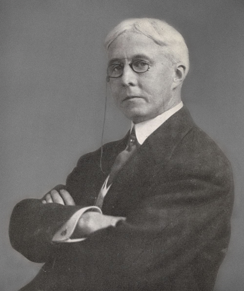 Unknown photographer, Arthur Jerome Eddy. Frontispiece to Arthur Jerome Eddy, Property (Chicago: A.C. McClurg & Co., 1921). General Research Division, The New York Public Library, Astor, Lenox and Tilden Foundations