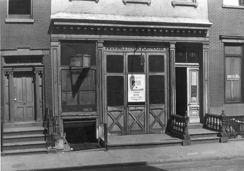 Provincetown Playhouse, 133 MacDougal Street, New York, 1927. Collection of Jeffery Kennedy