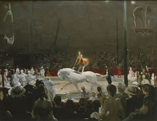 19.16-Bellows_Circus-Add.Gall.-1947.8_AndoverInn