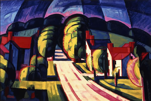 Oscar Bluemner (German-American, 1867–1938), Aspiration, Winfield, 1911–17. Oil on canvas, 20 × 30 in. (50.8 × 76.2 cm). Private Collection: Courtesy of Barbara Mathes Gallery, New York