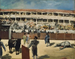 32.10-Manet_Bullfight-AIC-E14126