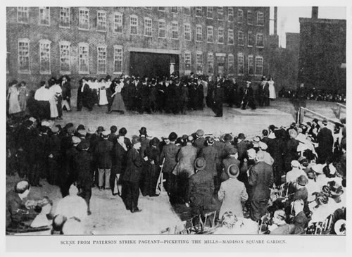 6.7-photo_Paterson Pageant Madison Square-NP 001 - Strikes - Textile Workers - Paterson NJ - Garden 1913