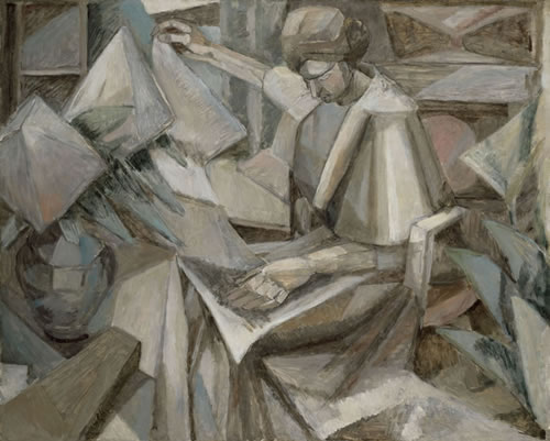 Gleizes_WomanPhlox-HoustonMFA-12364