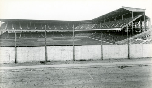 James P. Hall, [Ebbets Field Grand Stand], 1913, modern gelatin silver photograph made from original negative, New-York Historical Society