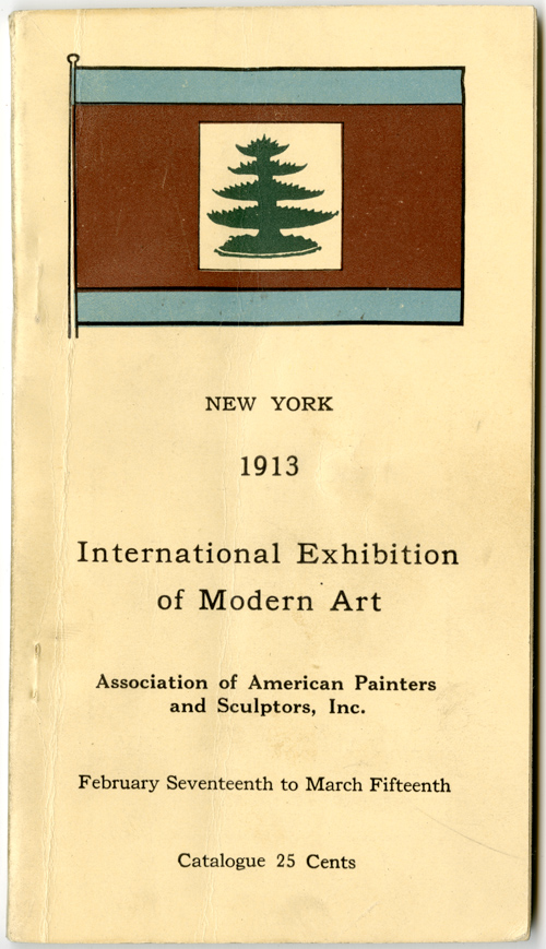 Association of American Painters and Sculptors, Inc., International Exhibition of Modern Art, exh. cat. (New York: 1913), cover