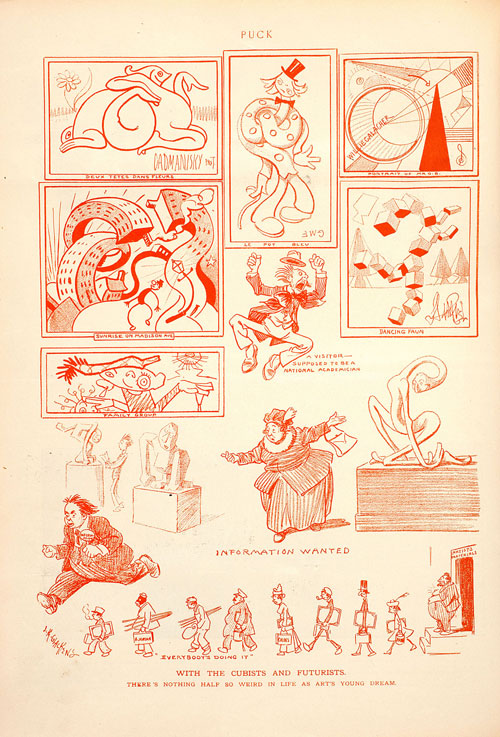 262-26.8-cartoon-WithCubistsFuturists_Glackens-Puck19Mar1913_86852d