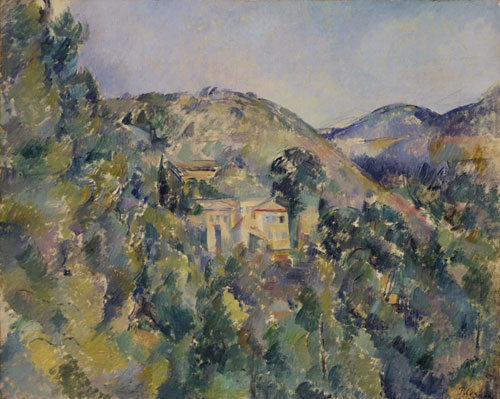 Paul Cézanne (French, 1839–1906), View of the Domaine Saint-Joseph, late 1880s. Oil on canvas, 25⅝ × 32 in. (65.1 × 81.3 cm). The Metropolitan Museum of Art, New York, Catharine Lorillard Wolfe Collection, Wolfe Fund, 1913 (13.66)